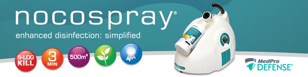 Nocospray: Enhanced disinfection - simplified
